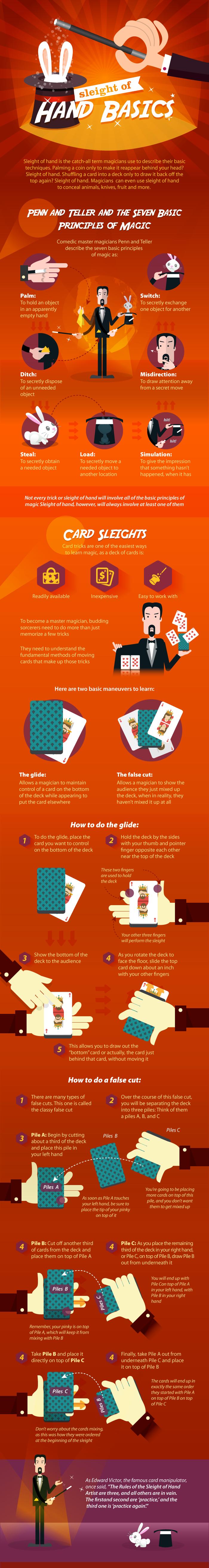 Sleight Of Hand Card Magic Tricks