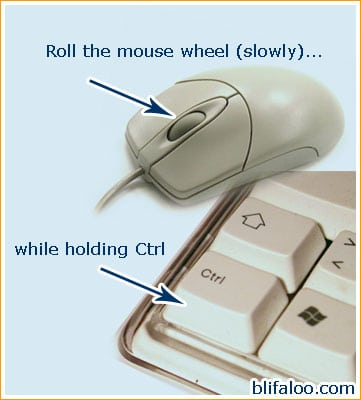 computer tip for seniors illustrated